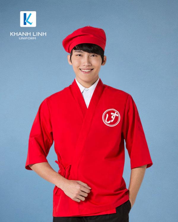 Đồng phục áo đầu bếp nhà hàng mẫu 38 ảnh 1