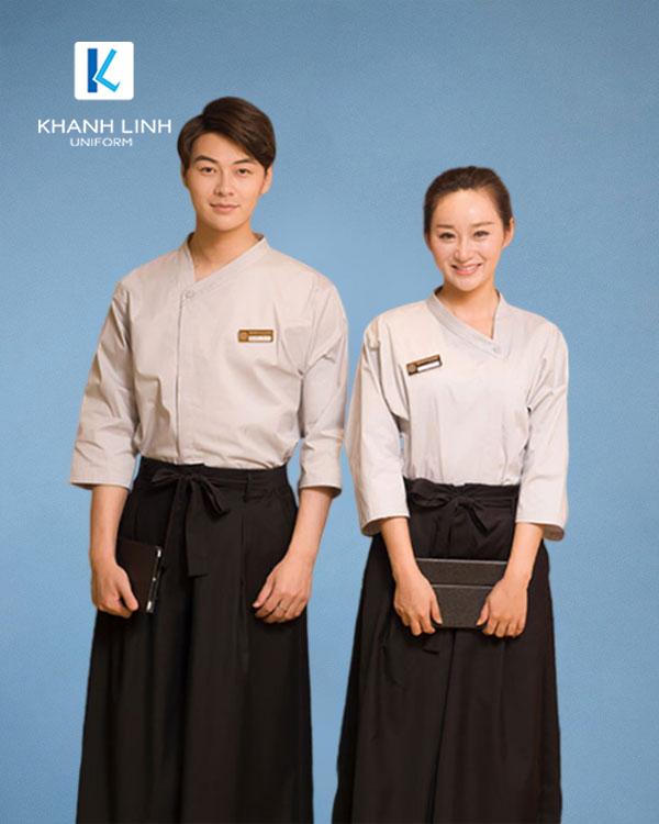 Đồng phục áo đầu bếp nhà hàng mẫu 40 - ảnh 1