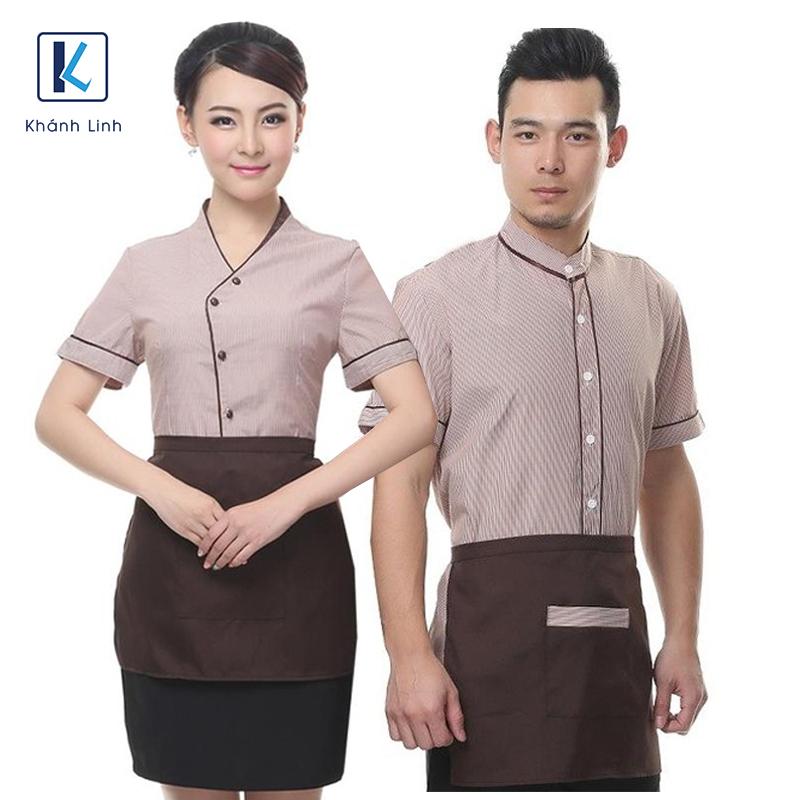 Đồng phục quán Cafe mẫu 11