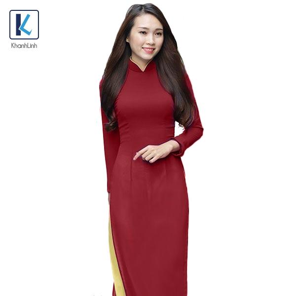 Đồng phục áo dài làm từ chất vải tơ tằm chất lượng
